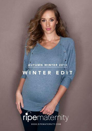 WINTER EDIT - Ripe Maternity