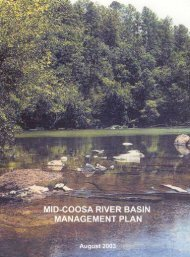 Middle Coosa Watershed Management Plan - Alabama Clean Water ...