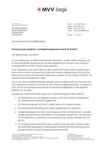 MVV (pdf/88 KB ) - Bundesnetzagentur