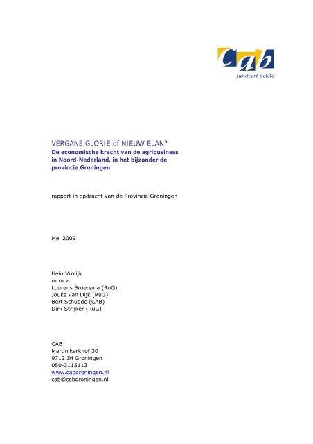 Vrolijk (2009), VERGANE GLORIE of NIEUW ELAN? - Frisse Blik