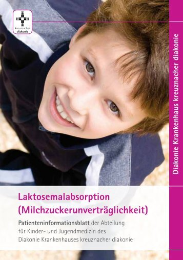 Laktoseunverträglichkeit / Laktosemalabsorption - Stiftung ...