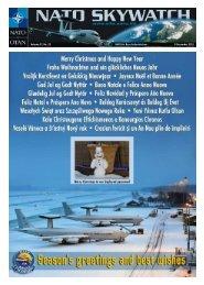 Skywatch No. 22 - 09 Dec 2011 (pdf) - nato awacs