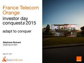 download the presentation (pdf - 3,6 Mo) - Orange.com