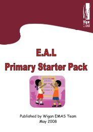 Primary starter pack.pub - Wigan Schools Online