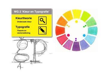 kleur en typografie