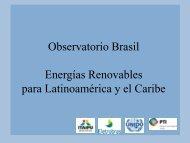 Observatorio Brasil Energías Renovables para Latinoamérica y el ...