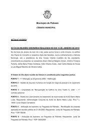 Ata 01/2010 Reunião Ordinária, de 13 de - Câmara Municipal de ...