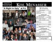 KOL MEVASSER - Kahal Joseph