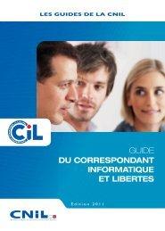 la fonction de Correspondant informatique et Libertés (CiL)