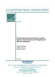 DT/WP No 2013-48 - Centre International de Recherche sur l ...