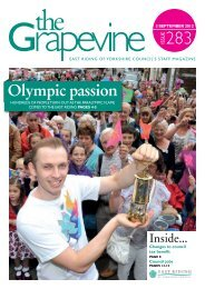 Olympic passion - East Riding Council