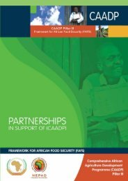 CAADP Framework for African Food Security (FAFS)