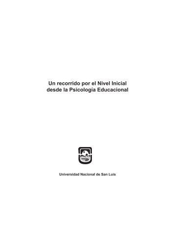 Un recorrido por el Nivel Inicial desde la Psicología Educacional
