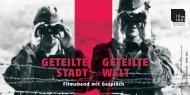 Geteilte StADt Geteilte Welt - WILHELM-FRAENGER INSTITUT ...