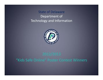 Cyber Security Poster Contest Winners - Delaware's Department of ...