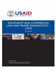 Laos - Economic Growth - usaid