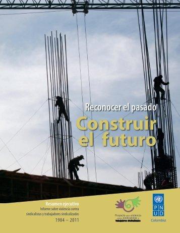 Resumen ejecutivo del Informe sobre sindicalismo del PNUD
