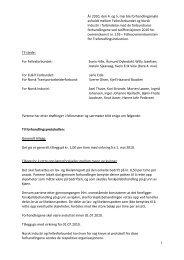 1 År 2010, den 4. og 5. mai ble forhandlingsmøte ... - Fellesforbundet