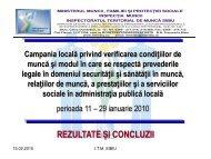 Inspecţie socială - ITM Sibiu