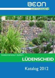 LÜDENSCHEID Katalog 2012 - Teich - Udo