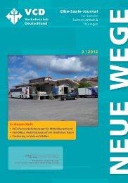 Neue Wege 2|2012 - VCD-Landesverband Elbe-Saale