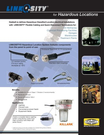 for Hazardous Locations - Hubbell Wiring Device-Kellems
