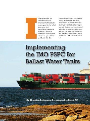 ballast tank corrosion control