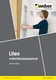 Asennusopas: Litex märkätilajärjestelmä - Taloon.com