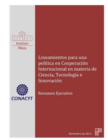 Lineamientos para una política en Cooperación Internacional en ...
