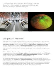 IARC 4/586 - Designing for Interaction - Meyers