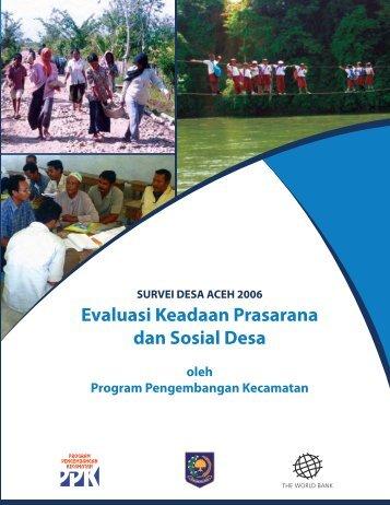 Survei Desa Aceh - psflibrary.org