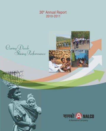 30th Annual Report - National Aluminium Company Ltd.