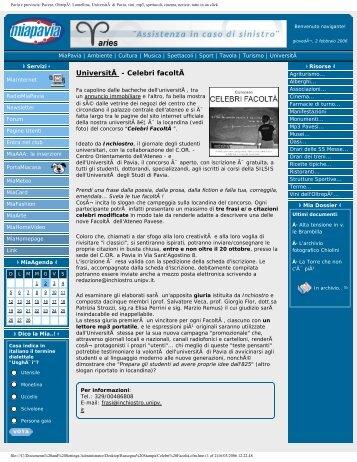 stampa_Celebri Facoltà.pdf - Lettere e Filosofia