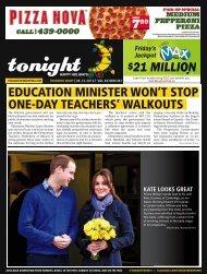 21 million - tonight Newspaper