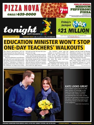 21 million - tonight Newspaper