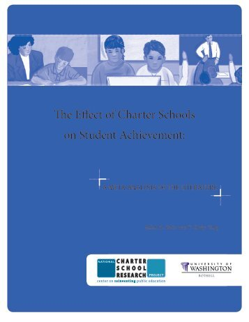 The Effect of Charter Schools on Student Achievement: