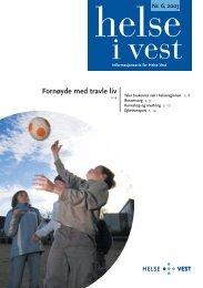 2003-06_Helseivest_web - Helse Vest