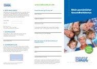 Bonusheft 2013 herunterladen - bei der BKK exklusiv