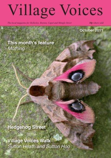 October - villagevoices.org.uk