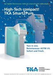 High-Tech compact! TKA Smart2Pure.
