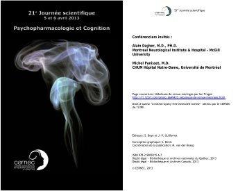Programme complet et résumé des présentations - CERNEC ...