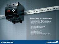 Motorvollschutz MP 204 – viele Möglichkeiten - Grundfos