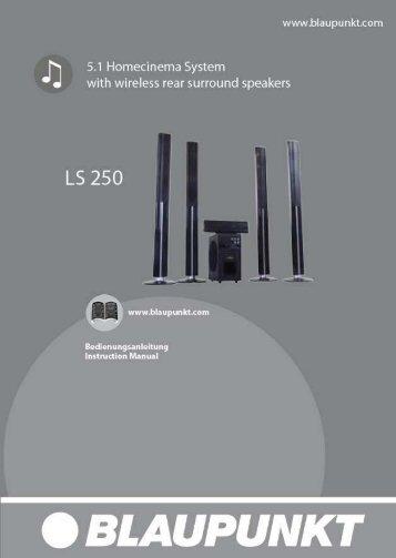 110412 LS 250 IM German - Blaupunkt