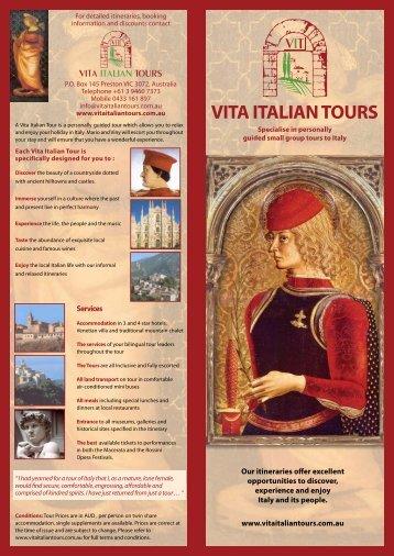 VITA ITALIAN TOURS