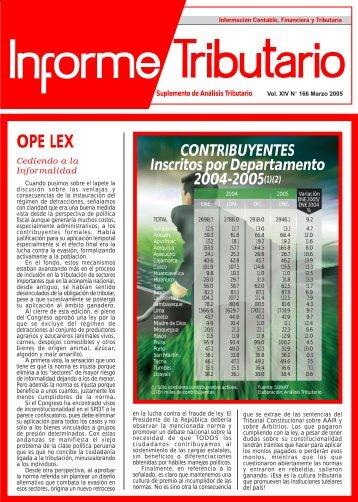 OPE LEX - AELE