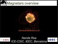 Magnetars overview