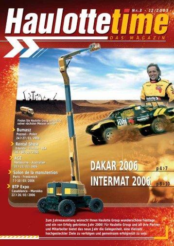 DAKAR 2006 INTERMAT 2006 DAKAR 2006 ... - Pinguely Haulotte