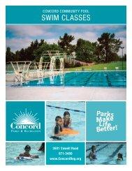 SWIM CLASSES - City of Concord