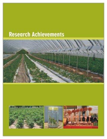 Research Achievements