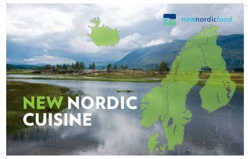 NEW NORDIC CUISINE - Ny Nordisk Mat